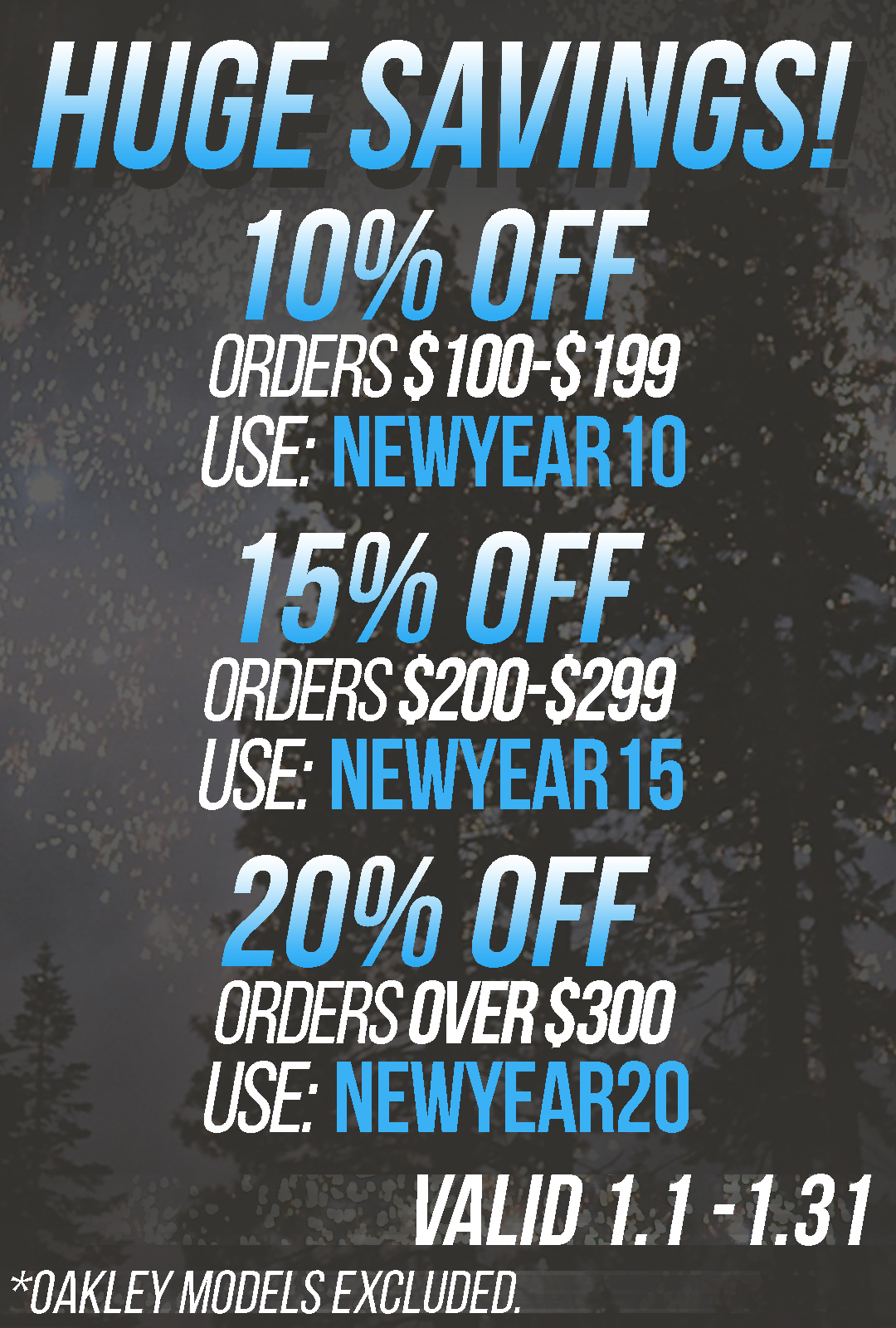 New Year Coupon Codes