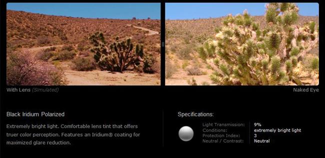 oakley gold iridium polarized lens review