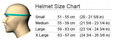 Smith Sequel Ski Helmet - Size Chart