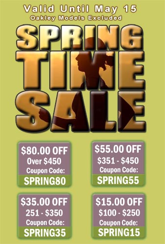Spring Saving Coupon