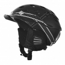 Smith Variant Brim Ski Helmet Black and White