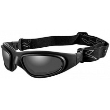 Wiley X SG-1 Interchangeable Sunglasses  Black and White
