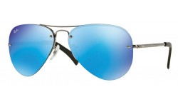 Ray Ban RB3449 Iconic Aviator Sunglasses {(Prescription Available)}
