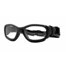 Rec Specs Slam XL Sports Goggles  Black and White