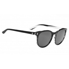 SPY+ Alcatraz Sunglasses  Black and White