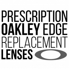 Prescription Oakley Edge Replacement Lenses Black and White