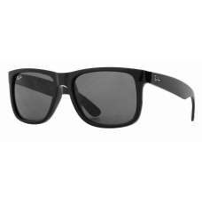 Ray Ban  RB4165 Justin Sunglasses  Black and White