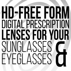 HD Free-Form Digital Prescription Lenses Black and White