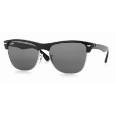 Ray Ban  RB4175 Oversized Clubmaster Sunglasses  Black and White