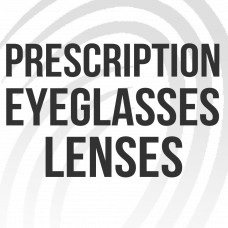 Prescription Eyeglasses Lenses Black and White