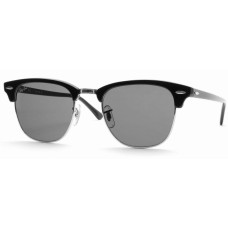 Ray Ban  RB3016 Clubmaster Sunglasses  Black and White