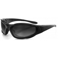 Bobster Raptor 2 Interchangeable Sunglasses  Black and White