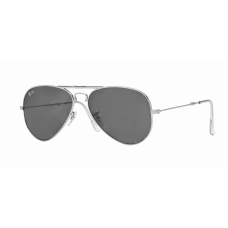 Ray Ban  RB3479 Folding Aviator Sunglasses  Black and White