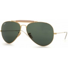 Ray Ban  RB3029 Outdoorsmans II Aviator Sunglasses