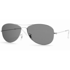 Ray Ban  RB3362 Cockpit Sunglasses  Black and White