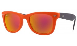Ray Ban RB4105 Folding Wayfarer Sunglasses {(Prescription Available)}