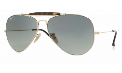 Ray Ban  RB3029 Outdoorsmans II Aviator Sunglasses {(Prescription Available)}
